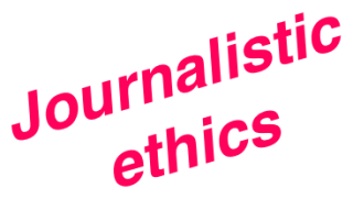 Journalisticethics