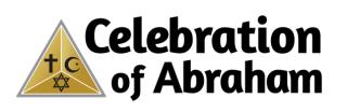 Celebration of Abraham gath