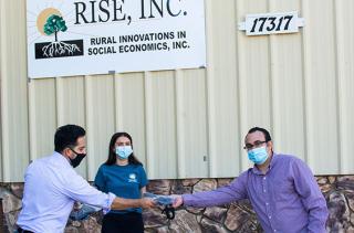 Mask donation