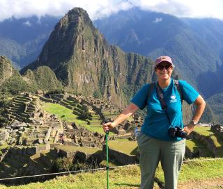 Yvonne Hunter Machu Picchu