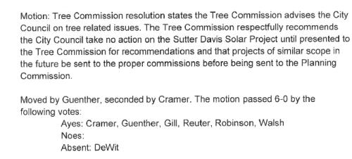 Treecommissionmotion