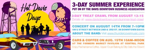 Hot Davis Days Header